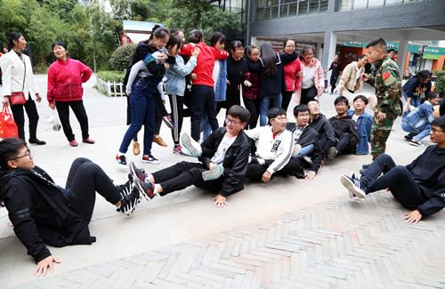 安徽:合肥大学生志愿服务联盟社区素质拓展