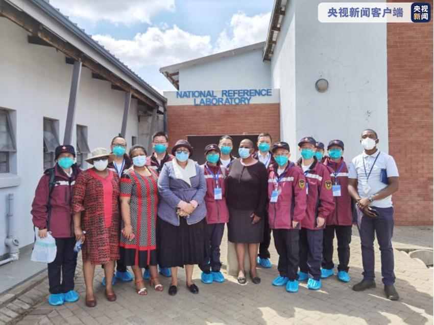 莱索托工作圆满完成 中国抗疫专家组奔赴安哥拉 -安青网