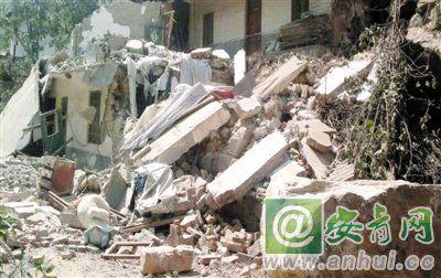 地震造成灾区许多房屋倒塌